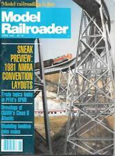 Model Railroader June 1981 Beehive Coke Ovens C&Nw Atlantics Coal Trestle 4 x 8