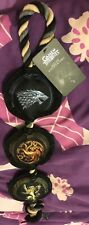 GAME OF THRONES ROPE DOG TOY BAT GIFT PRESENT ROPE CHEW DOG TOY SQUEAKY
