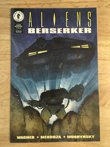 Aliens Berserker #1-4 Full Set - Dark Horse Comics - Wagner / Mendoza