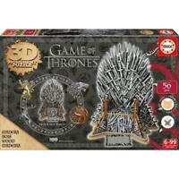 Game of Thrones 3D Puzzle Collector Iron Throne Monument