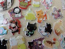 Lot San-X Sumikko Gurashi Kutusita Nyanko Sentimental Circus Puffy stickers