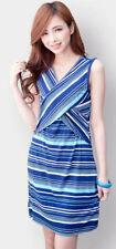 Cotton Blend Casual Plus Size Maternity Dresses
