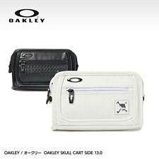 Oakley Golf TOUR Skull Cart Side 13.0 Pouch Bag 921571JP Black White 9.2oz
