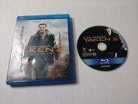 Taken 2 Unrated Cut (Blu Ray 2013) Liam Neeson No DVD No Digital Copy