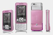 Sony Ericsson T303 Flip Dummy Mobile Cell Phone Display Toy Fake Replica Pink