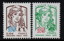 PAIRE TIMBRES 5234-5235 NEUFS XX LUXE - MARIANNE DE LA JEUNESSE SURCHARGES