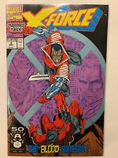 X-Force #2-1991 NM- 9.2 1st Garrison Kane (Weapon X) and 2nd App of Deadpool