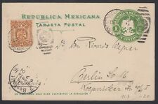 MEXICO, 1904. Post Card H&G 107,  M.C. - Berlin