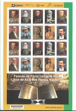 BRAZIL 2008 NATIONAL HEROES, TANCREDO NEVES, FULL SHETS, 2 SETS, MNH