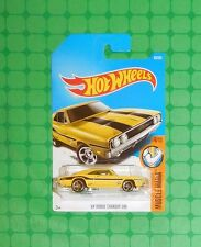 2017 Hot Wheels Muscle Mania #95 - '69 Dodge Charger 500 - Moon Eyes -Intl. Card