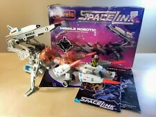 CAPSELA SPACELINK MISSILE ROBOTIC CONSTRUCTION TOY PLAYSET 100% COMPLETE