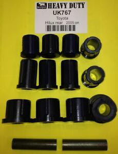 Shackle Bush Kit for Hilux GGN16 GGN25 GGN26 KUN15 KUN16 KUN26 KUN25 2005 On