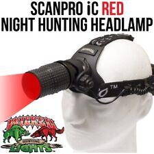 Wicked Lights ScanPro iC Red Night Hunting Headlamp Kit for coyote fox predators