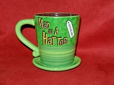 Disney Parks Authentic Alice In Wonderland Mad as A Hat Ter  Tea Cup/Coffee Mug