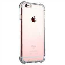 Hybrid Rubber Shockproof TPU Clear Cover Case for Apple iPhone 5 SE 6 6s 7 Plus