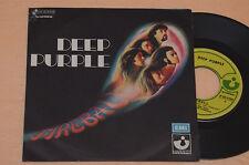 """DEEP PURPLE 7"""" 45 FIREBALL 1°ST ORIGINLAE ITALY 1971 COLLEZIONISTI DISCO NM"""