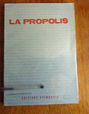 APICULTURE: LA PROPOLIS RECHERCHES  - APPLICATIONS THERAPEUTIQUES    Rare