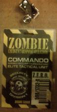 ZOMBIE HUNTER COMMANDO ELITE TACTICAL UNIT SECURITY/EVACUATION  I.D. BADGE 2013