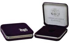 US Mint Presentation Gift Display Case For 1/10 oz Platinum American Eagle Coin