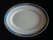 Vintage A J Wilkinson Royal Staffordshire Pottery Art Deco Oval Serving Platter