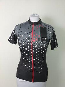 Gore #37445 C3 Jersey T-Shirt Trikot Stretch Rad Fahrrad Bike Damen 36 Schwarz