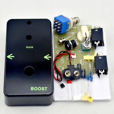 Boost DIY Guitar Pedal Kit with 1590B Pre- drilled Aluminum Enclosure Free Ship