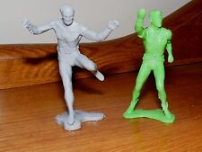 3 inch Batman and Robin Figures 1970s Cake Toppers (1966 Ideal Justice League)