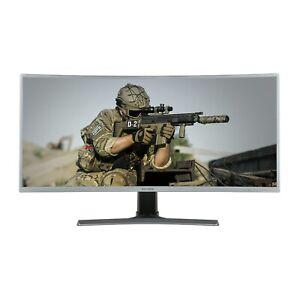 "electriQ 35"" WQHD 100Hz HDR FreeSync Curved UltraWide Gaming Monitor"