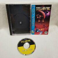 Stellar-Fire SEGA CD Complete CIB Tested Working Clean Disc