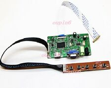 "HDMI VGA LCD EDP Controller Board kit for LG LP173WF4-SPF5 1920*1080 17.3"" Panel"