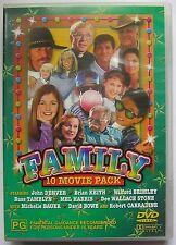 FAMILY 10 MOVIE DVD PACK Walking Thunder, Heaven Sent, X-Ray Kid, Wind Dancer