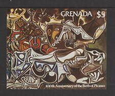 Grenada - 1981, Birth of Picasso sheet - M/M - Imperf