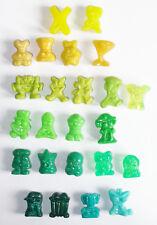 24 Gogo Gogos Gogo's Crazy Bones Classics Figuren 90er gelb grün türkis
