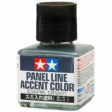 40ml TAMIYA PANEL LINE ACCENT COLOR DARK GREY/GRAY/ for PlasticModel Kits #87199