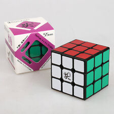 Dayan V 5 ZhanChi 3x3x3 Speed Cube Magic Puzzle Schwarz Glatt & Fast 55mm