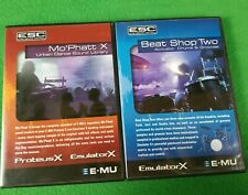 E-MU MO'PHATT X Urban Dance Sound Library and BEAT SHOP TWO Acoustic Drums &GRVS