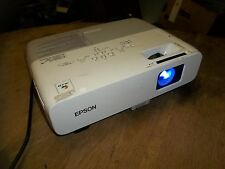 Epson H295A LCD Projector KR85 w/ New Power Cord PM-A PowerLite 85