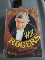 NEW Sealed Will Rogers Collection Volume 2 (DVD, 2006, 4-Disc)