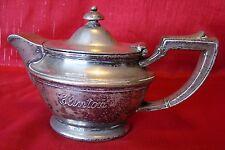 Circa 1920s - Clinton Hotel - Aladdin - Teapot - GM Co. - EP - Springfield Mass