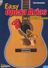 Easy Opera Arias for Cassical Guitar - CD included