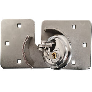 Van Garage Shed Door Security Padlock Hasp Set - Heavy Duty