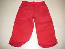 Mayoral ingenious Trousers Size 104 Red in trendy Bermuda Length!!!