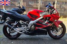 Honda CBR600 F1-F6 01-06 SP Engineering Carbon Fibre Stubby Moto GP Exhaust