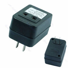 Black Step Up Voltage Converter Adapter 110V US to 220V US EU