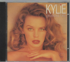 Kylie Minogue Greatest Hits Cd Album I Should Be So Lucky Step Back In Time