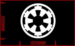 Star wars Galactic Empire logo decal vinyl sticker choose your colour