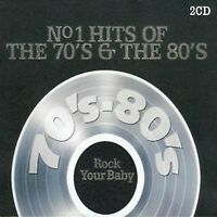 Various Artists-No. 1 Hits of the 70's & The 80's DOUBLE CD
