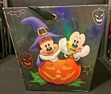 Disney Halloween Trick or Treat Candy Paperboard Bucket Mickey Donald Goofy