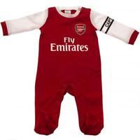 Arsenal Fc Baby Sleepsuit Babygrow Official Home Football Kit 18/19 Season