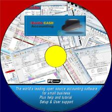 TURBOCASH 5 HOME & BUSINESS ACCOUNTING SOFTWARE CD ROM EASY TO USE TAX VAT PAYE